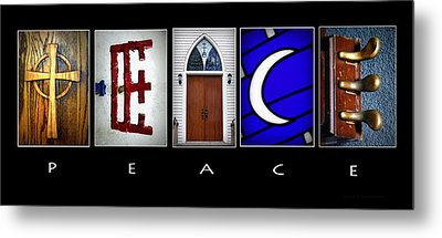 Elements Of Peace Metal Print by Cricket Hackmann