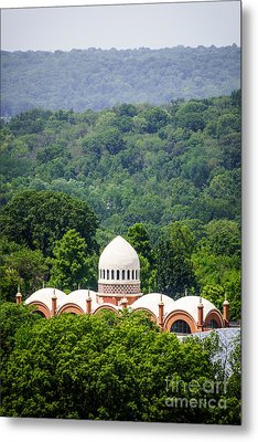 Elephant House At Cincinnati Zoo And Botanical Garden Metal Print