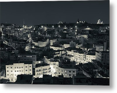 Elevated View Of Central Amman Metal Print