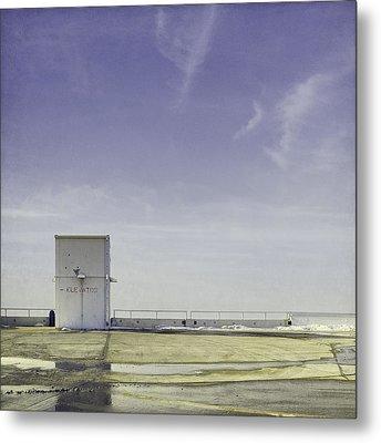 Elevator Metal Print by Scott Norris