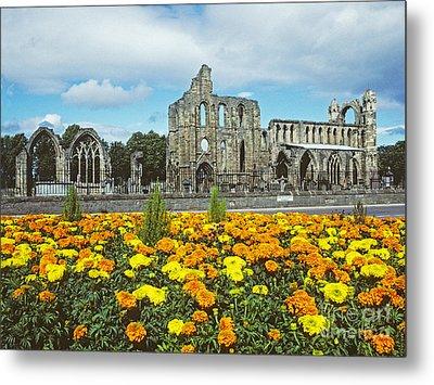 Elgin Cathedral - Scotland Metal Print