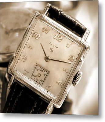 Elgin Watches Metal Print