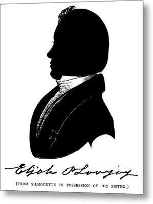Elijah Parish Lovejoy (1802-1837) Metal Print by Granger