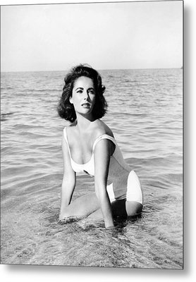 Elizabeth Taylor In Suddenly, Last Summer  Metal Print by Silver Screen