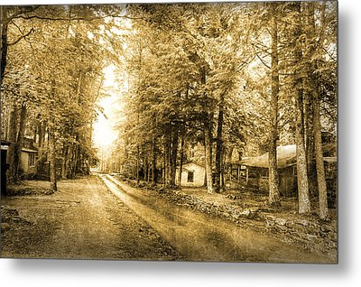 Elkmont Ghost Town Metal Print by Michael Eingle