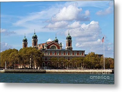 Metal Print featuring the photograph Ellis Island by Eleanor Abramson