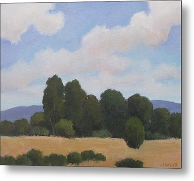 Metal Print featuring the painting Ellwood by Jennifer Boswell