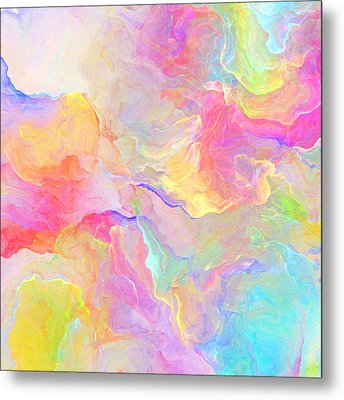 Eloquence - Abstract Art Metal Print by Jaison Cianelli