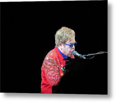 Elton Metal Print by Aaron Martens