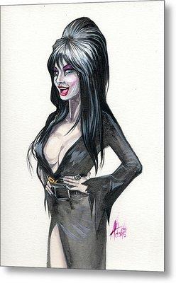 Elvira I Metal Print
