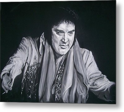 Elvis 1977 Metal Print by Martha Suhocke