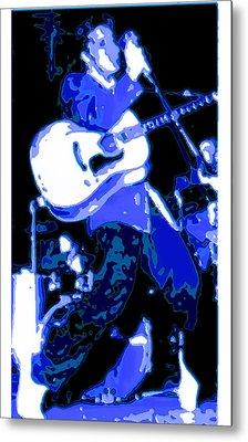 Elvis Metal Print by CD Kirven