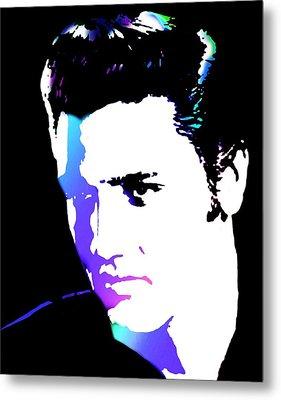 Elvis Metal Print by Cindy Edwards