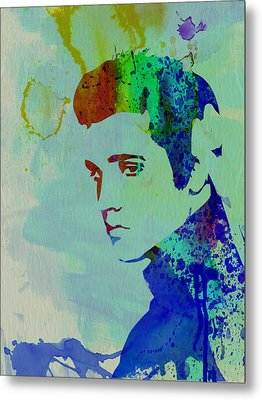 Elvis Metal Print by Naxart Studio