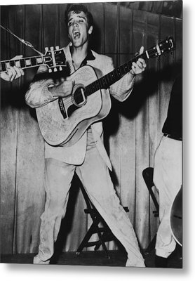 Elvis Presley  Metal Print by Retro Images Archive