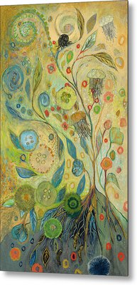 Embracing The Journey Metal Print by Jennifer Lommers