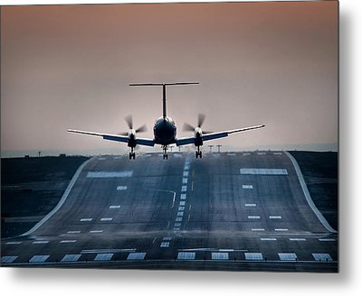 Embraer 120-er Metal Print