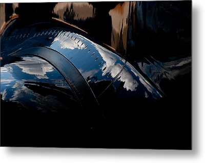 Embraer Reflection II Metal Print by Paul Job