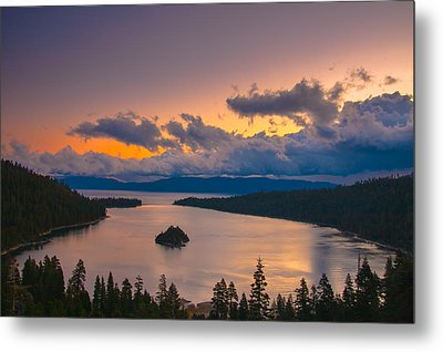 Emerald Bay Before Sunrise Metal Print by Marc Crumpler