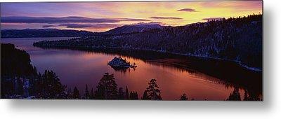 Emerald Bay Lake Tahoe Ca Metal Print