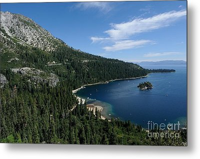 Emerald Bay Lake Tahoe California Usa Metal Print by John Kelly
