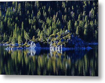 Metal Print featuring the photograph Emerald Bay Teahouse by Sean Sarsfield