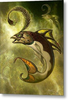 Emerald Fish Metal Print by Jeff Haynie