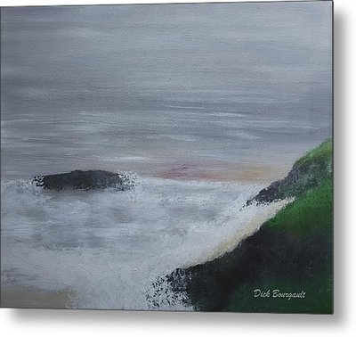 Emerald Isle Metal Print by Dick Bourgault