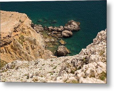 Emerald Sea Metal Print by Davorin Mance