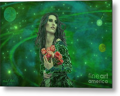 Emerald Universe Metal Print by Michael Rucker