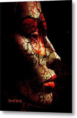Emergence Metal Print by The Feathered Lady