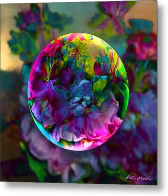 Emerging Spring  Metal Print by Robin Moline