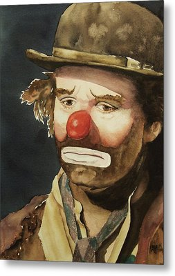 Emmett Kelly Metal Print