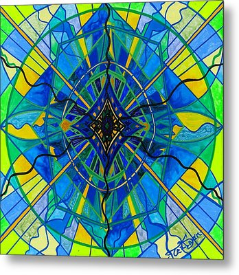Emotional Expression Metal Print