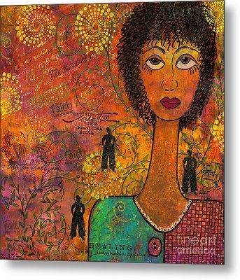 Emotional Truth Metal Print by Angela L Walker