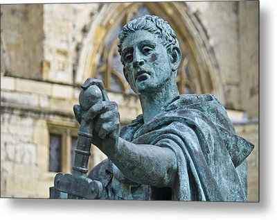 Emperor Constantine Metal Print