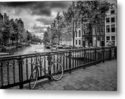 Emperor's Canal Amsterdam Metal Print by Melanie Viola