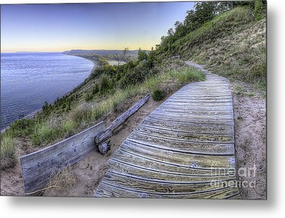 Empire Bluff In Sleeping Bear Dunes Metal Print by Twenty Two North Photography