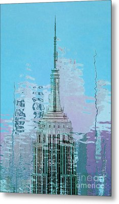 Empire State Building 1 Metal Print by Az Jackson