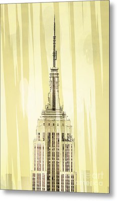 Empire State Building 2 Metal Print by Az Jackson