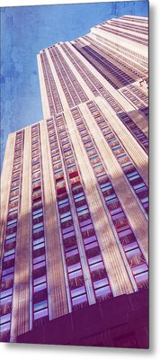 Empire State Building Metal Print by Chris McKenna