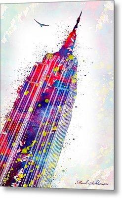Empire State Building Metal Print by Mark Ashkenazi
