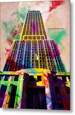 Empire State Metal Print by Gary Grayson
