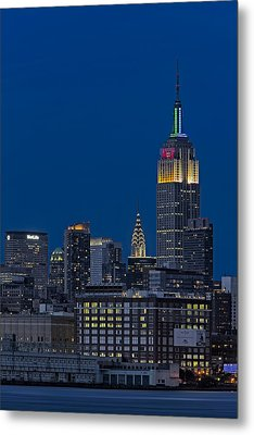 Empire State Metal Print by Susan Candelario
