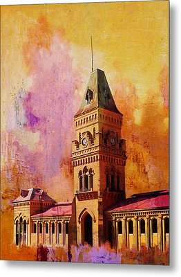 Empress Market Metal Print by Catf
