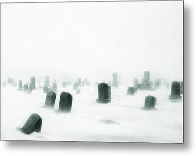 Metal Print featuring the photograph Emptiness by Yvonne Emerson AKA RavenSoul