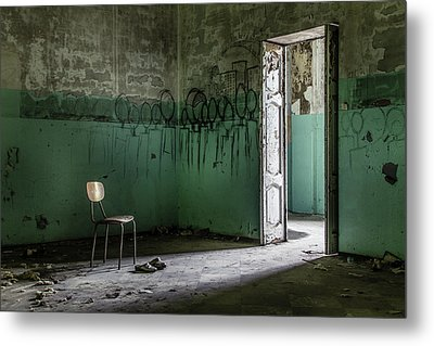 Empty Crazy Spaces Metal Print