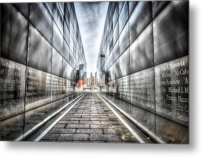 Empty Sky Memorial Metal Print by Linda Karlin