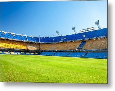 Empty Stadium Metal Print by Jess Kraft