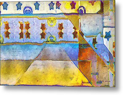 Empty Stage Metal Print by RC deWinter